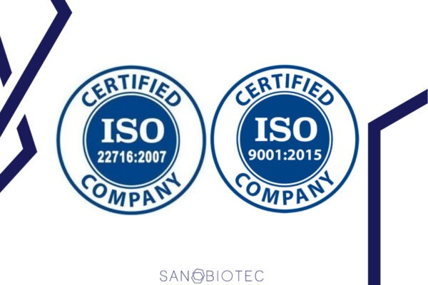 Sanobiotec Earns Certifications for Quality Management and Good Manufacturing Practices in Cosmetics (ISO 9001:2015, ISO 22716:2007)