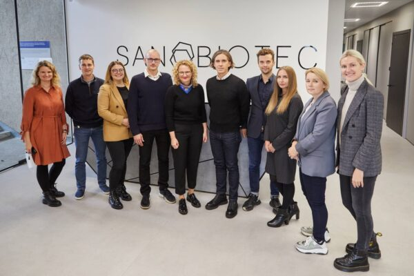 Visit of Lithuanian Minister of the Economy and Innovation at Sanobiotec