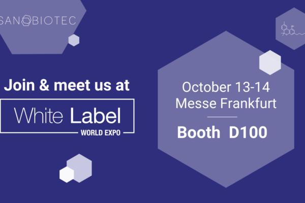 Sanobiotec will exhibit at the White Label World Expo Europe, Frankfurt